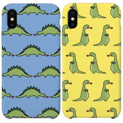 공룡 디자인 슬림하드케이스