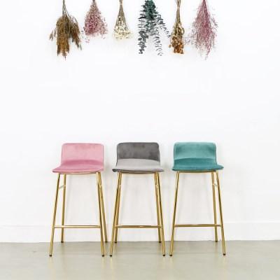 샤이니 골드 바의자- 아일렌드 높은 식탁의자 바체어