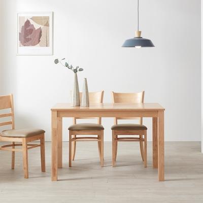 [스크래치] 스칸디 빈스 4인 식탁 (의자별도)_(11535520)