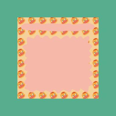 비비드미드나잇 핑크덕 메모지