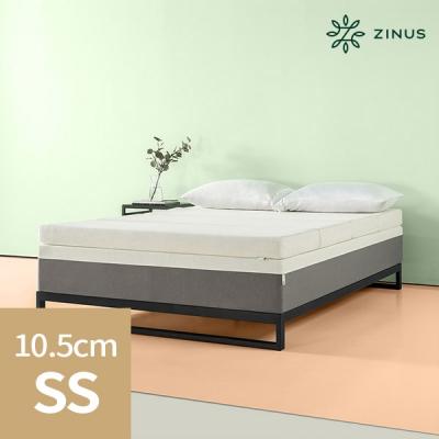 zinus 스마트텍얼티마 4단메모리폼 토퍼(10.5cm/SS)_(912254)