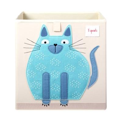 수납정리함 박스(장난감정리함) - 고양이