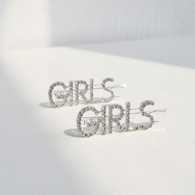 큐빅 헤어핀 cubic hair pin (girls)