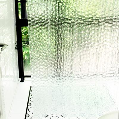 반투명 방수 샤워커튼 180 x 180cm_(1235635)