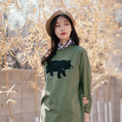 [Organic cotton] going home - green