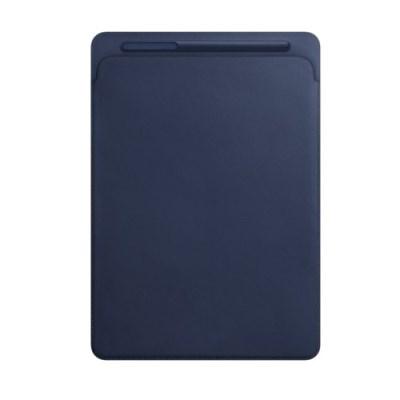 12.9형 iPad Pro 2세대용 가죽 슬리브 - 미드나이트 블루 MQ0T2FE/A