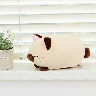 모찌모찌 만두 고양이 인형 샴 25CM_(1164724)