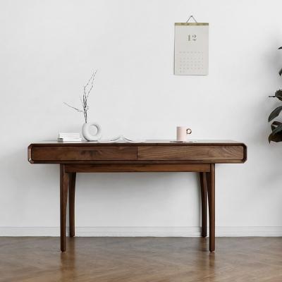[헤리티지월넛] A형 책상/테이블