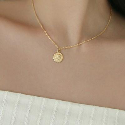 rose necklace (2colors)