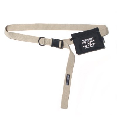 ASSEMBLY BELT POUCH-BEIGE
