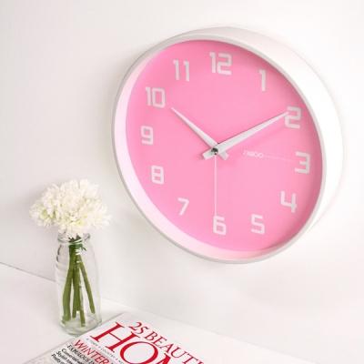 러블리 벽시계 (핑크)