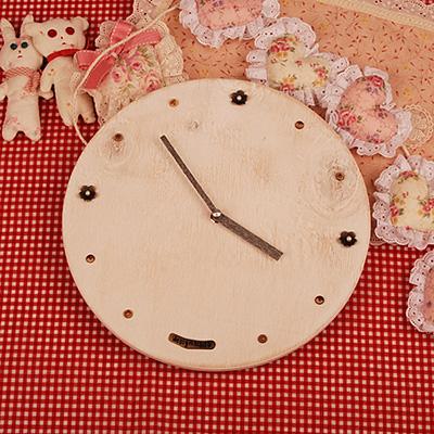 진주꽃 벽시계