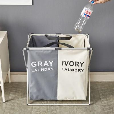 예다움 가정용 분리수거함 재활용 2단 쓰레기 대용량_(1568496)
