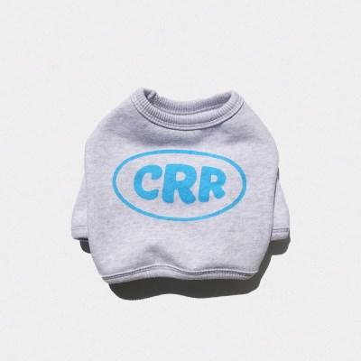 CRR 크롭 스웻셔츠 1%화이트