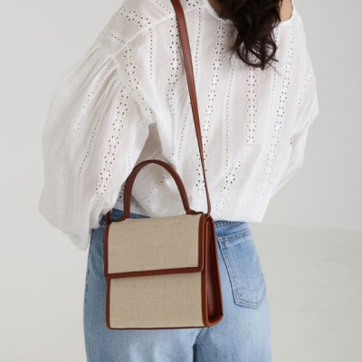 leather square bag (3colors)_(1242694)