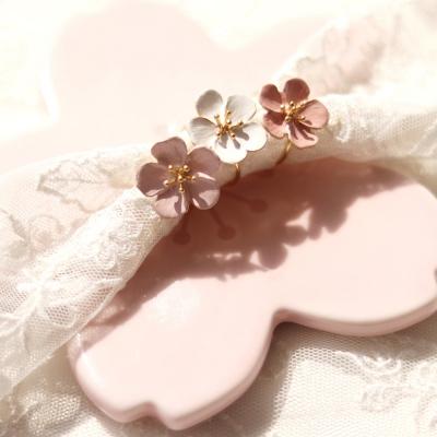 [우아한 공방] 벚꽃, 이토록 사랑스러운 봄날 반지