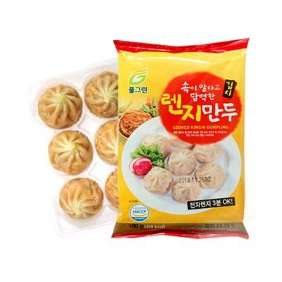 [고향의맛] 전자레인지 3분OK 간편한 김치만두 180gX10팩