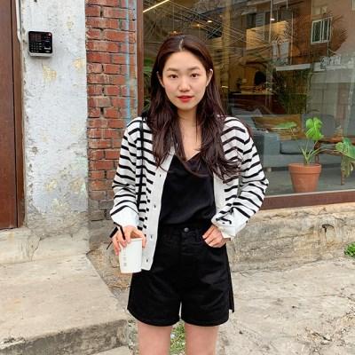 Cotton side slit shorts_S (size : S,M,L)_(1242622)