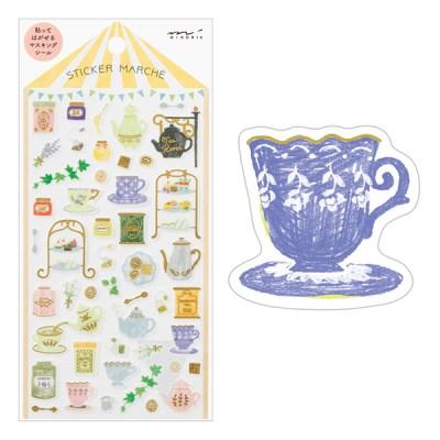 Sticker Marche - Tea