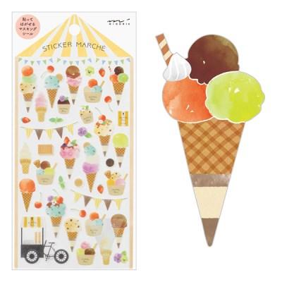 Sticker Marche - Ice Cream