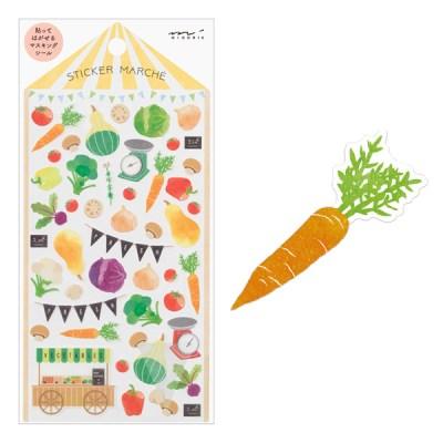 Sticker Marche- Vegetable