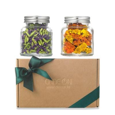 채온 카네이션꽃차&메리골드꽃차 선물세트
