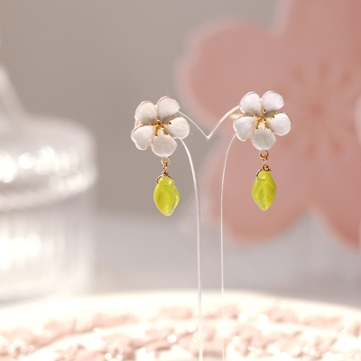 [우아한 공방] 벚꽃, 이토록 사랑스러운 봄날 이어링2