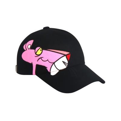 [SS19 Pink Panther] Big Side Print Cap(Black)_(673230)