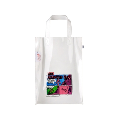 [SS19 Pink Panther] Comics PVC Tote Bag(White)_(673226)