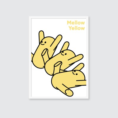 [A3 아트포스터] BIG series_멜로우 옐로우(Mellow Yellow)