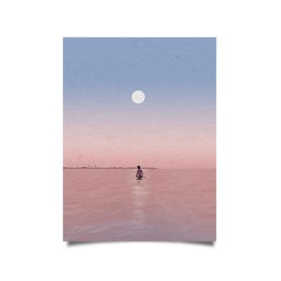 From sky Rose Beach 포스터 (A3)
