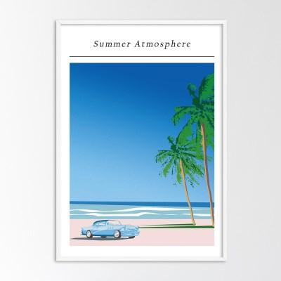 Summer atmosphere -  A2,A3,A4 인테리어 액자