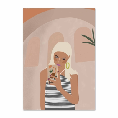 Tropical Mood일러스트 포스터 or 그림판넬