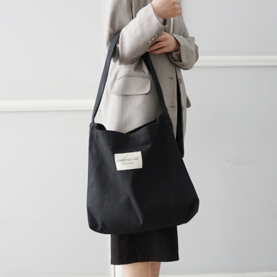 ZAVENTEM ECO BAG BLACK