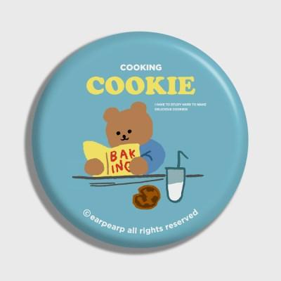 [어프어프] 손거울 Cookie bear-sky blue