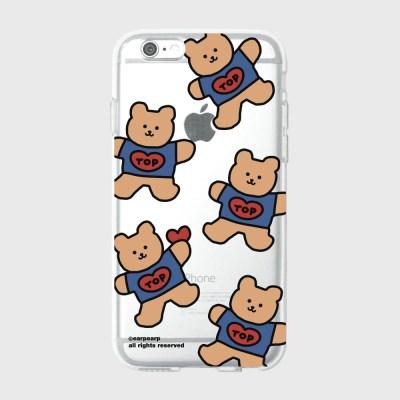 [어프어프][젤리케이스]Bear heart