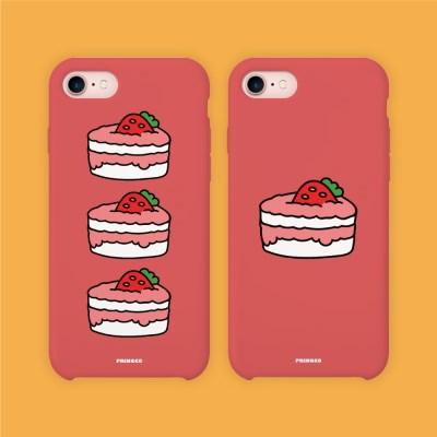 프링코 딸기케이크 케이스