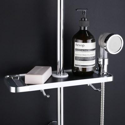 물쎈 스마트 욕실 샤워기 선반
