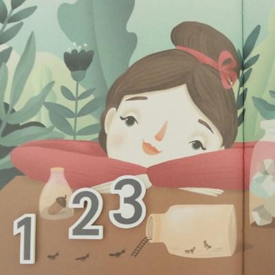 쥬에 졸리 숫자칠교A/자석 교구 퍼즐 칠판 유아