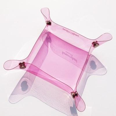 [포에브리바리] 휴대용 식기 (핑크) - portable dining (pink)