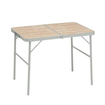 베이직 우드 캠핑 테이블 90 73180033 야외용 접이식 다용도