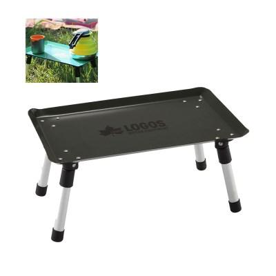 로고스 하드 미니 테이블 (카키) 73189002 야외용 휴대 다용도 탁자