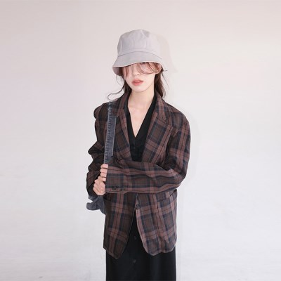 over-fit check jacket (2colors)_(1194698)