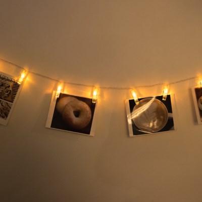 어반 LED 사진집게 무드등 엘로우_(1248012)