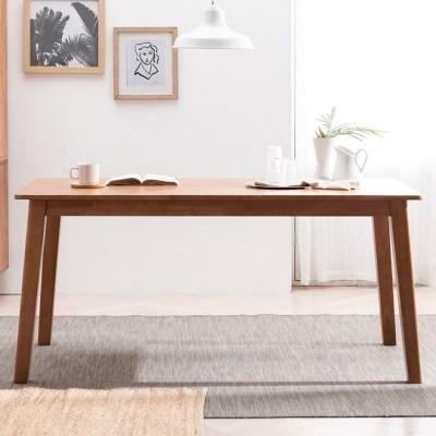 헤나 고무나무 원목 6인용 식탁 테이블_(1980814)