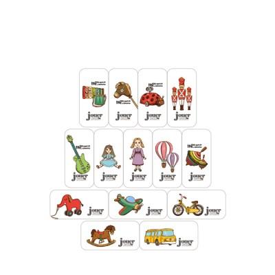 쥬에 디또 자석지우개 14종세트/자석 교구 퍼즐