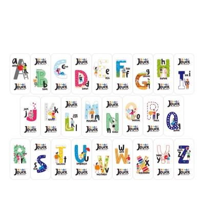 쥬에 알파벳 자석지우개/자석 교구 퍼즐 칠판