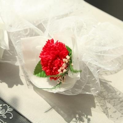 1AM 카네이션 프리저브드 코사지 비누 꽃다발 4종_(1329886)