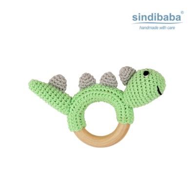 [Sindibaba] 신디바바_디노 공룡 딸랑이(그린)_(1468893)