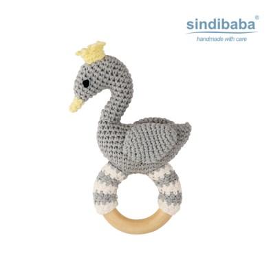 [Sindibaba] 신디바바_우아한 비앙카 딸랑이(그레이)_(1468891)